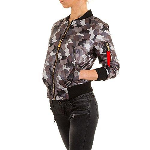 Ital-Design - Blouson - Femme Gris