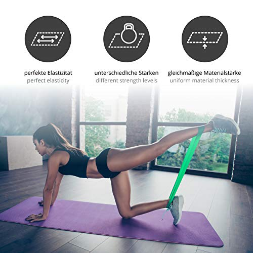 Zoom IMG-2 loop fasce elastiche fitness set