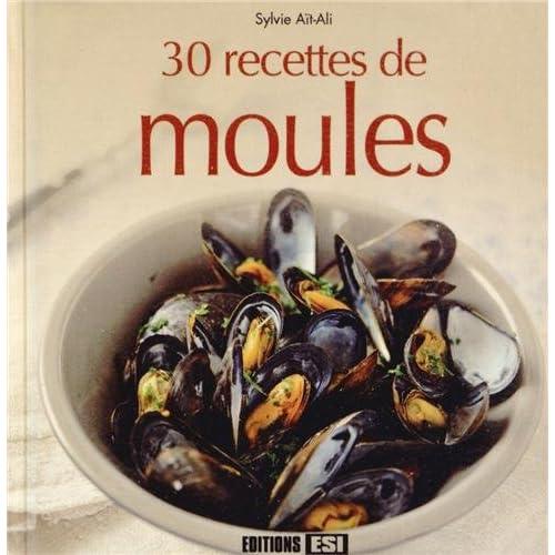 30 recettes de moules