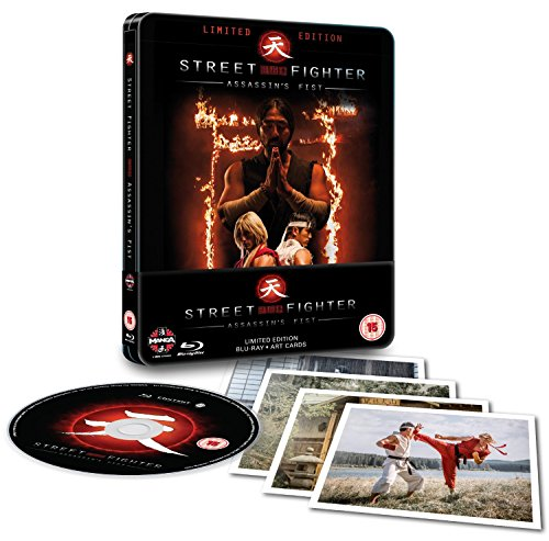 Bild von Street Fighter: Assassin's Fist Blu-ray Steelbook [UK Import]