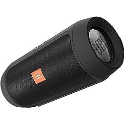 JBL Charge 2+ - Enceinte Portable Bluetooth Résistante aux Projections d'Eau - Noir