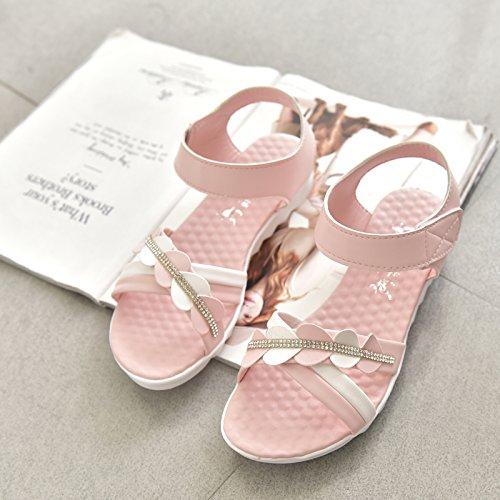 XY&GKFrau Xia Pingdi Mode Sandalen 35 Pink