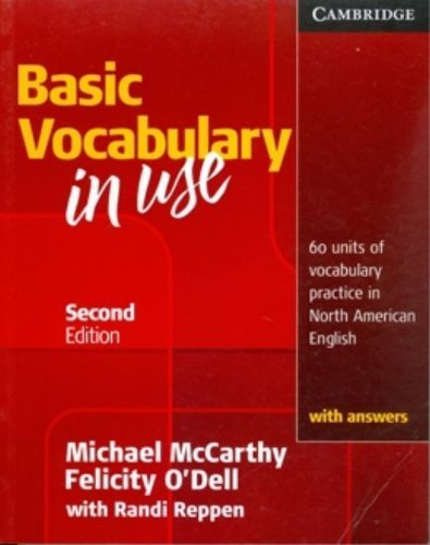 Vocabulary in Use Basic Student's Book with Answers by McCarthy, Michael, O'Dell, Felicity (2010) Paperback