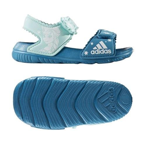 adidas Unisex Baby DY Frozen Altaswim G I Sneaker, Verschiedene Farben (Petmis/Ftwbla/Aquene), 26 EU