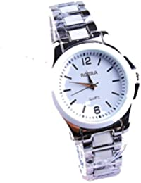 ufengke® reloj de pulsera acero inoxidable casual para mujeres,reloj de pulsera-blanco muñeca de regalo