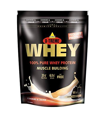 Inkospor X-Treme Whey Protein, Cookies & Cream, 500g Beutel -