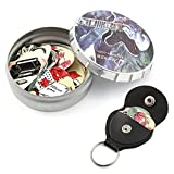 Donner Nostalgia Celluloid Gitarren Plektrum mit Key Chains Plektrum Halter