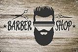The Metal Sign Shack Barber Shop Décor Barbers Hair Salon Poster Print Metal Wall Door Plaque 1080