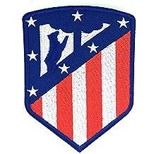 Parche Bordado Termoadhesivo Atletico de Madrid Escudo Nuevo 6,5 x 8,5cm
