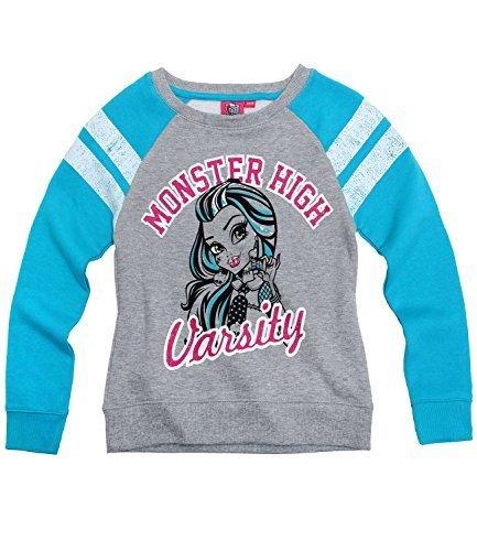 Monster High Mädchen Sweatshirt - türkis - 140