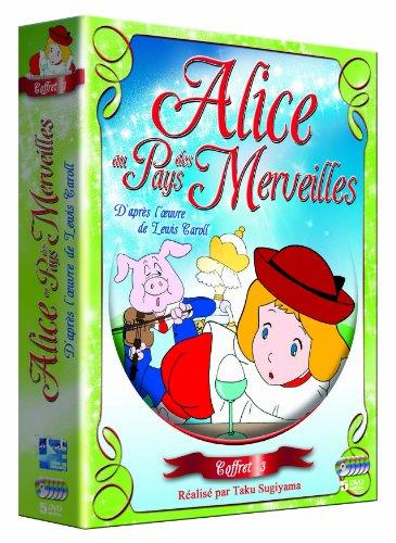 Alice aux pays des merveilles Coffret 3