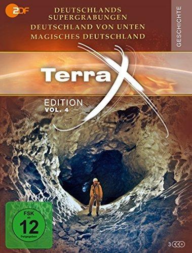 Terra X - Edition Vol. 4: Deutschlands Supergrabungen / Deutschland von unten / Magisches Deutschland (3 DVDs)