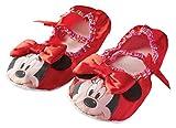 Rubie 's Offizielle Minnie Mouse Hausschuhe für Kinder –Einheitsgröße, rosa