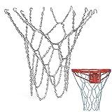 Schneespitze Basket Ball Net Red de Baloncesto de Acero galvanizado Cadena Baloncesto para Interior y Exterior