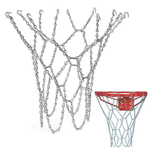 Schneespitze Basketballkorb Netz Netz Basketballkorb Metall Netz Outdoor Verzinktem Stahl Kette für Innen und Außen