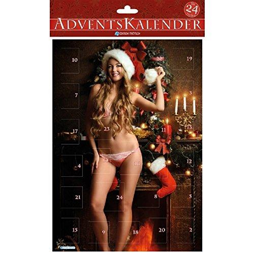 Erotischer Advenrskalender - sexy Frauen - Sexy Adventskalender - Verfüherische Weihnachtszeit - Adventskalender aus Pappe