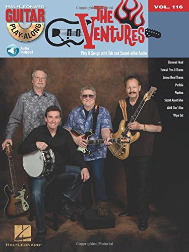 116: The Ventures Guitare +CD (Book & CD)