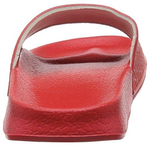 SlydesLogo F - Scarpe da Spiaggia e Piscina donna Rosso (Cherry Red)