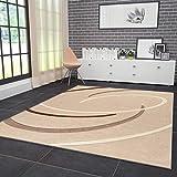 VIMODA Moderne Designer Teppiche Verschiedene Muster in Verschiedenen Farben Lila Rot Grau Schwarz Weiss 120x170 cm