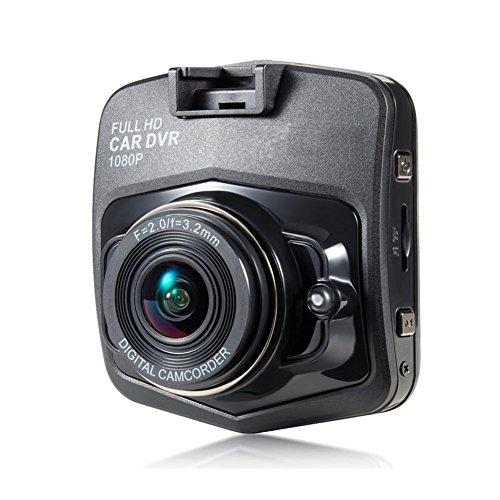 grewtech GA10Auto Dash Kamera DVR Dashboard Cam Fahrzeug Video Recorder-6,1cm Full HD 1080p H.264, Weitwinkel, Nachtsicht, G-Sensor, Crash Erkennung, Parkplatz Monitor, 32GB Speicher -