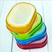 Aerobic Multifunctional Soap Box Soap Box Sponge Pad Soap Plate