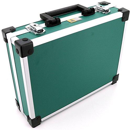 Allit Aluminium Koffer Basic L35 Grün Typ 424130 - 2