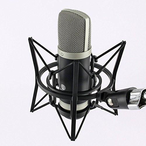 MCU-01-c USB Großmembran Kondensator Mikrofon Hyper-Nierencharakteristik Home Studio Musik Gesang Recording Rap Profi Hochwertige Mikrofonspinne Windows XP, Vista, 7, 8, 10 oder MAC OS, keine zusätzlichen Treiber notwendig