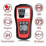 Autel MD802 Outil de Diagnostic OBD2 / EOBD Scanner Voiture pour Tous Les Systèmes (Moteur, ABS, SRS, Transmission, etc.), Fonctions OBD2 Complètes, Remise à Zéro du Vidange et Réinitialisation d'EPB