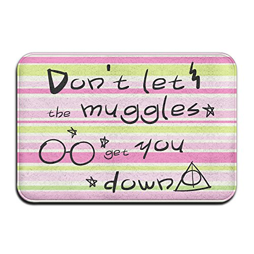 Nicht Aufschrift Don 't Let The Muggles Get You Down Schmutzfangmatten 4060cm