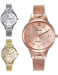 Modische Hohe Härte Glasspiegel Dame Gürtel Uhr Luxus Frauen Armband Uhren Mode Frauen Kleiden Armbanduhr Damen Quart Uhren