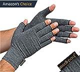 Medipaq® Anti-Arthritis Handschuhe (Paar) – bieten Wärme und üben Druck aus um die Blutzirkulation zu erhöhen, Schmerz zu reduzieren und die Heilung zu fördern - (mittel)