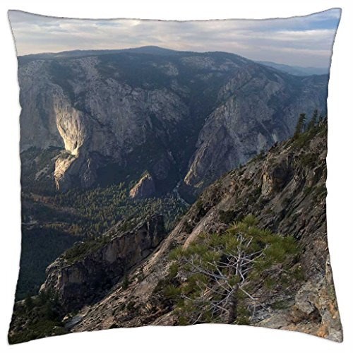 iRocket - awesome taft point in yosemite - Throw Pillow Cover (24