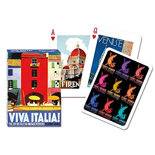 Piatnik 1667Kartenspiel–Viva Italia