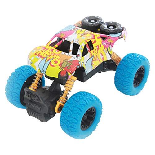 Wascoo Spielzeug Spielzeugauto Kindertagesgeschenk,2019 Kinder Inertial Geländewagen Automodell Ziehen Spielzeug Jungen Geschenk