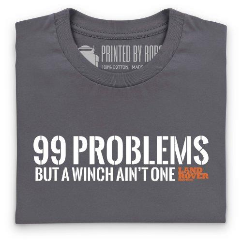 LRM 99 Problems T-Shirt, Herren Anthrazit