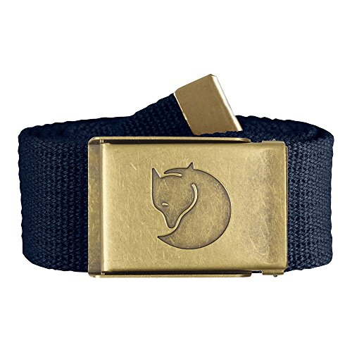 Fjällräven Canvas Brass 4 cm Gürtel, Dark Navy, One Size