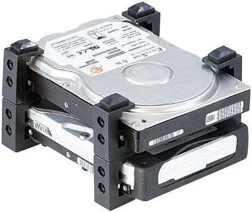 """Mod-it Festplattenhalter: Festplatten-Halterung für 2,5"""" & 3,5"""" HDDs (Wechselrahmen)"""