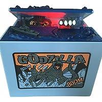 Preisvergleich für AlienTech Godzilla Monster Dinosaurier Moving Led Musikalische Elektronische Kinder Münze Bank Sparschwein Geld Spardose Spardosen