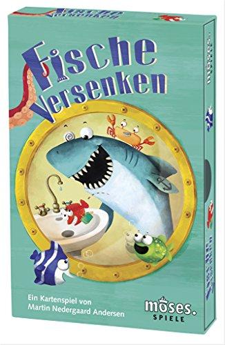 Versenken (Moses 90255 Fische versenken, Kartenspiel für Kinder ab 6 Jahren)
