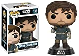 Funko 10451 POP Bobble: Star Wars: Rogue One: Captain Cassian Andor (Exc)