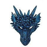 HeziCat Festa in Costume di Halloween Maschera in a Testa di Animale drago maschere carnevale viso vestito carnevale costume anno schede di maschere veneziane di vestito carnevale minnie bambina