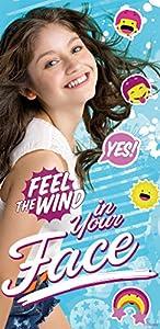 Kids Licensing-wd18052-Toalla de Playa-Soy Luna-Feel The Wind