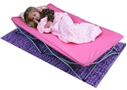 Regalo My Cot Portable Toddler Bed with Travel Bag (Pink)