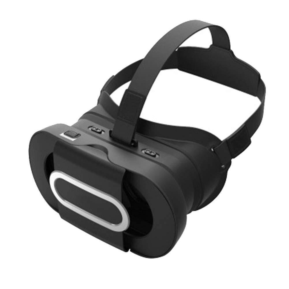 AYI Lunettes 3D Casque de réalité virtuelle VR, Monté sur la tête Pliable, Convient à 4,5 à 6,0 Pouces iPhone/Android/Gloire téléphone Intelligent