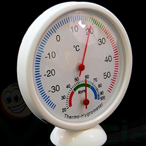 Termometro igrometro analogico temperatura umidità interno casa termoigrometro