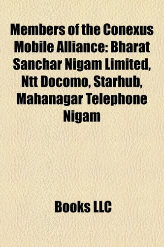 members-of-the-conexus-mobile-alliance-bharat-sanchar-nigam-limited-ntt-docomo-starhub-mahanagar-tel