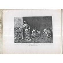 Mariano Fortuny numerado 20: Pasatiempos moros, acuarela