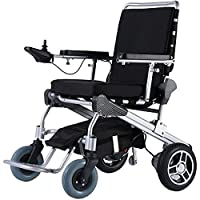 "Yogi Folding Power Chair 10"" (with 24V15Ah battery) Compact - Electric Wheelchair"