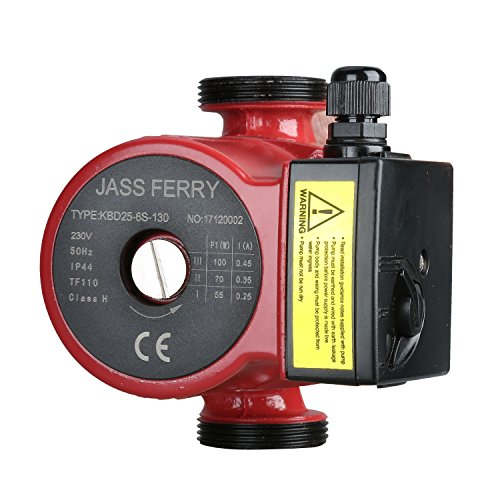 JASS FERRY Heating Circulating Pumps Hot Water Circulation for Central Heating Systems Replace KBD25-6S-130 60 decimetres Test