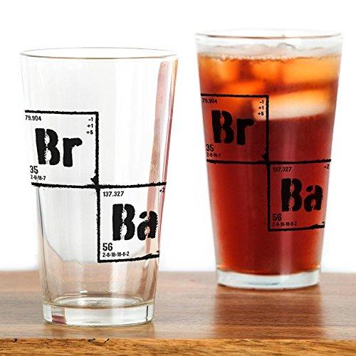 CafePress-Elements Breaking Bad-Pint-Glas, 16oz Trinkglas farblos